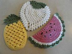Pin by Pam Thompson on Crochet Potholders